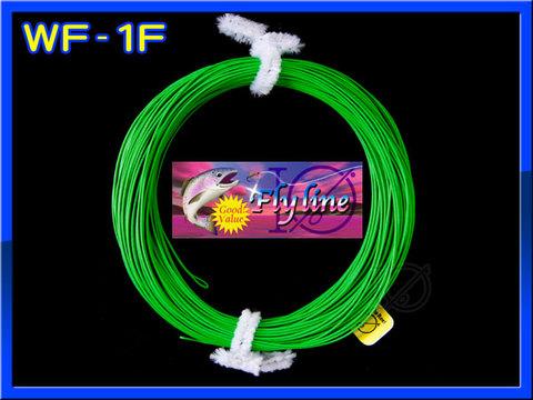 【イオ】 フライライン WF-1F Fruit green フローティング 緑色 両端ループ付