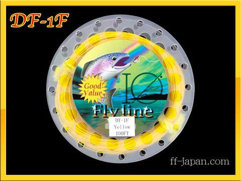 【イオ】フライライン DT-1F yellow Fly line