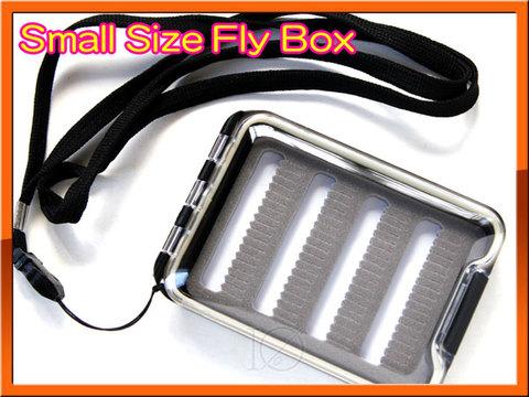 フライボックス FLY BOX 軽量フライケース ポケットサイズ ネックストラップ付き!