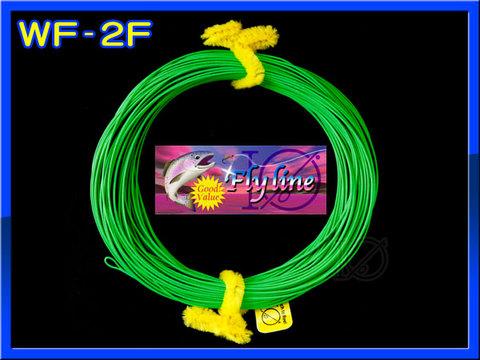 【イオ】 フライライン WF-2F Fruit green フローティング 緑色 両端ループ付