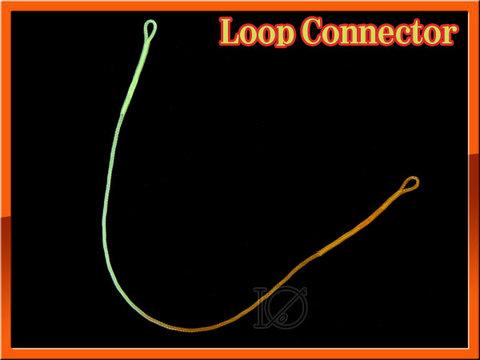 ブレイデッドループ ループコネクタ 30LB 両端ループ 2本セット
