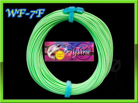 【イオ】フライライン WF-7F pale green フローティング 明るいグリーン