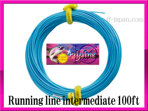 【イオ】フライ用 ランニングライン 1.05mm インターミディエイト