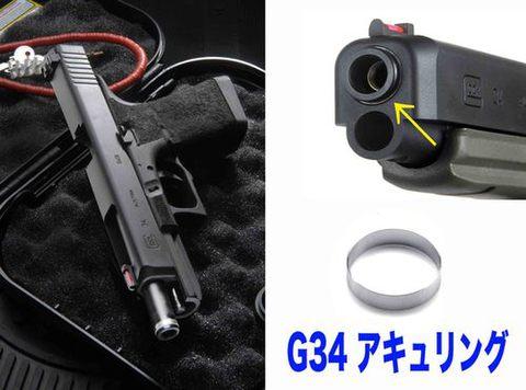 東京マルイG34用 アキュリング