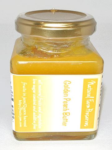 黄金桃のバター