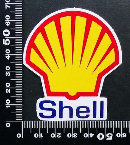 シェル shell ステッカー 05658