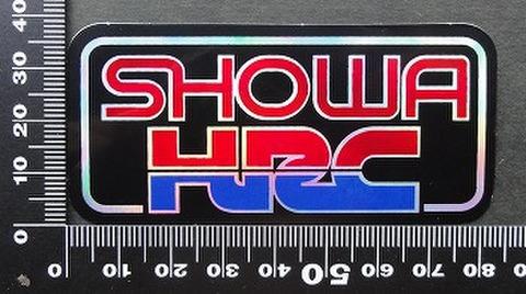 ショウワ HRC SHOWA ステッカー 05710