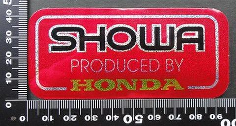 ショウワ SHOWA HONDA ステッカー 05713