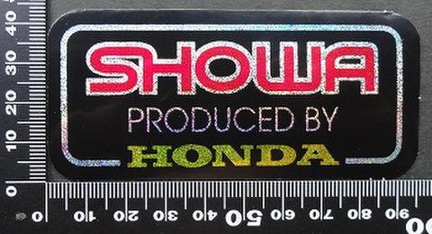 ショウワ SHOWA HONDA ステッカー 05714