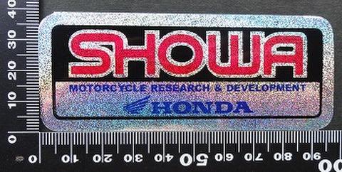 ショウワ SHOWA HONDA ステッカー 05715