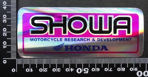 ショウワ SHOWA ホンダ HONDA ステッカー 05718
