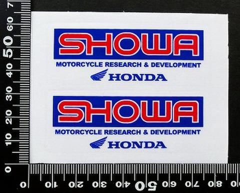 ショウワ SHOWA ホンダ HONDA ステッカー 05726