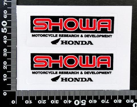 ショウワ SHOWA ホンダ HONDA ステッカー 05727