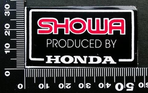 ショウワ SHOWA ホンダ HONDA ステッカー 05730