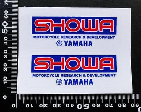 ショウワ SHOWA ヤマハ yamaha ステッカー 05725