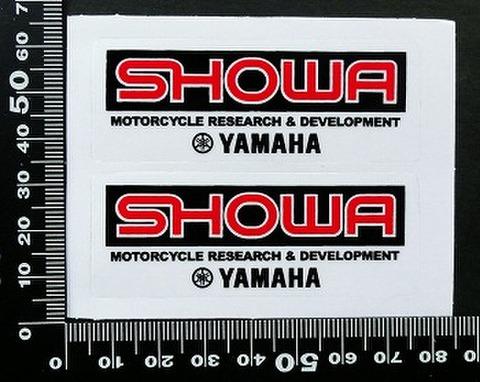 ショウワ SHOWA ヤマハ yamaha ステッカー 05728