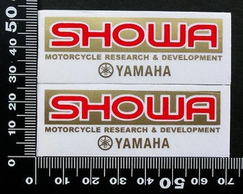 ショウワ SHOWA ヤマハ yamaha ステッカー 05729