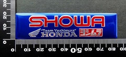 ヨシムラ YOSHIMURA エンブレム 耐熱 アルミステッカー 09934