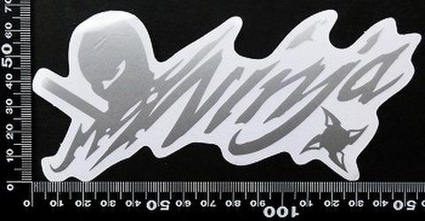 ニンジャ ninja kawasaki カワサキ ステッカー 05483