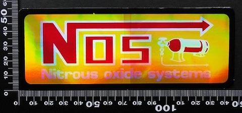 ノス NOS ステッカー 05501