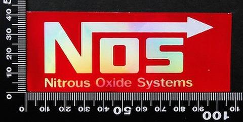 ノス NOS ステッカー 05502