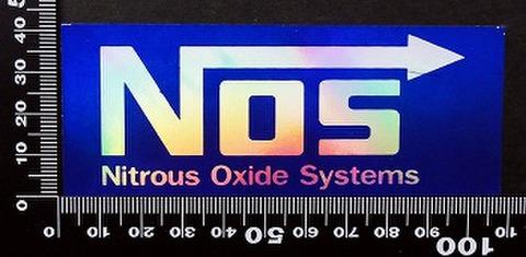 ノス NOS ステッカー 05504