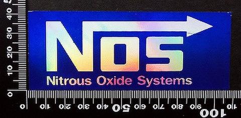 ノス NOS ステッカー 05505
