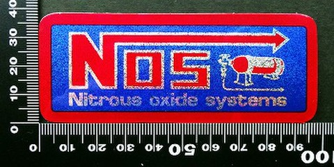 ノス NOS ステッカー 05508