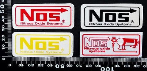 ノス NOS ステッカー 05516