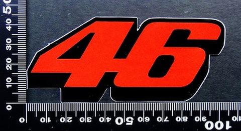 バレンティーノ・ロッシ(Valentino Rossi ステッカー 46 05609