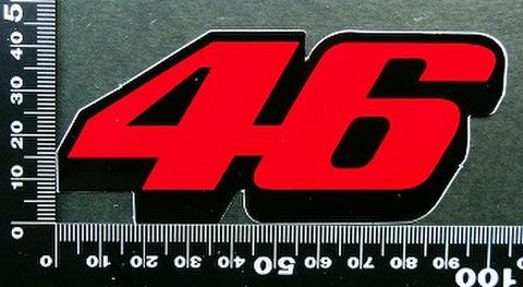 バレンティーノ・ロッシ(Valentino Rossi ステッカー 46 05610