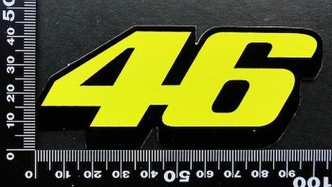 バレンティーノ・ロッシ(Valentino Rossi ステッカー 46 05611