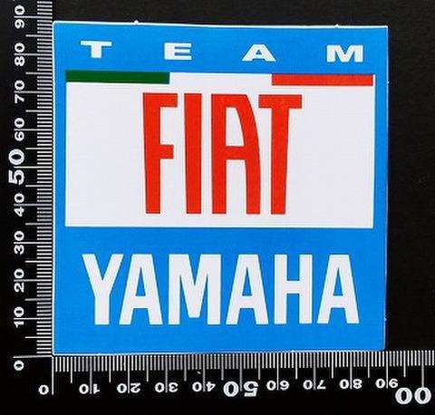 フィアット・ヤマハ yamaha FIAT ステッカー 05388