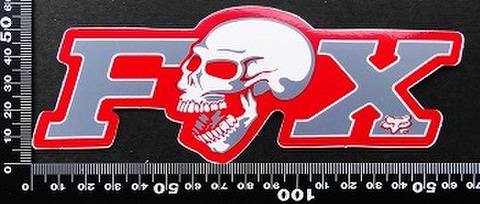 フォックス FOX オフロード モトクロス ステッカー 05390