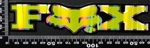 フォックス FOX オフロード モトクロス ステッカー 05413