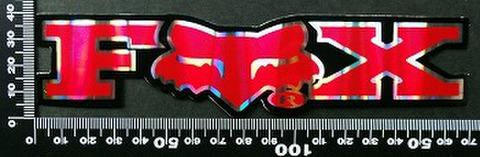 フォックス FOX オフロード モトクロス ステッカー 05416