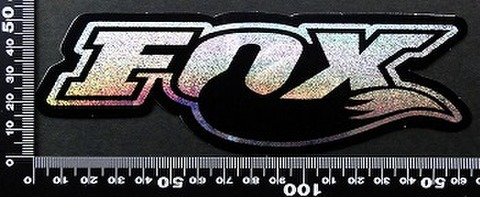フォックス FOX オフロード モトクロス ステッカー 05419