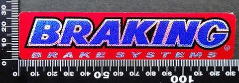 ブレーキング (BRAKING)  ステッカー 00210