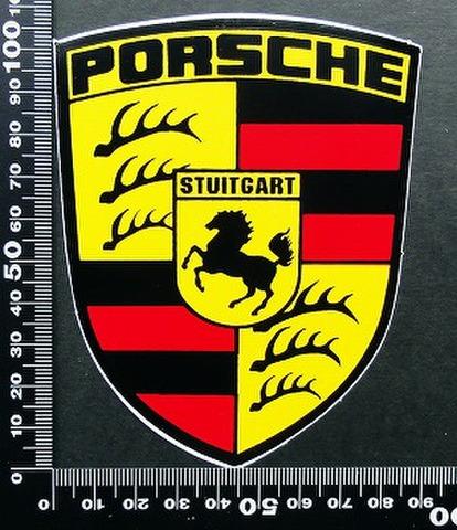 ポルシェ PORSCHE ステッカー 05577