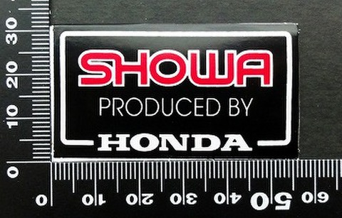 ホンダ HONDA ショウワ SHOWA ステッカー 05738