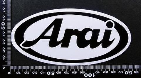アライヘルメット arai ステッカー 00178