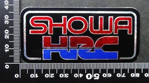ホンダレーシング SHOWA ショウワ HRC ステッカー 05435
