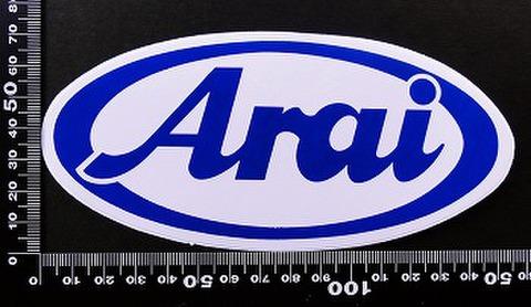 アライヘルメット arai ステッカー 00179