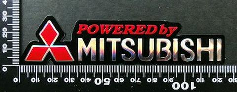 ミツビシ 三菱 MITSUBISHI ステッカー 05552