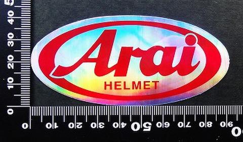 アライヘルメット arai ステッカー 00182