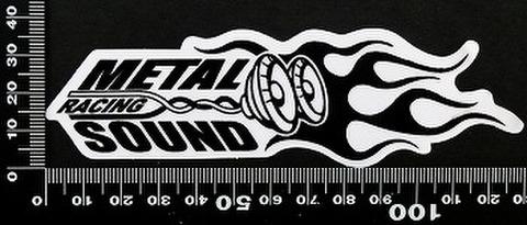 メタル サウンド レーシング ステッカー  05556