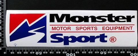 モンスタースポーツ   MONSTER SPORT ステッカー 05551