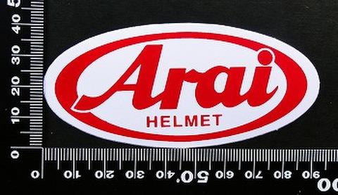 アライヘルメット arai ステッカー 00185
