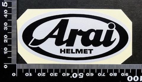 アライヘルメット arai ステッカー 00186