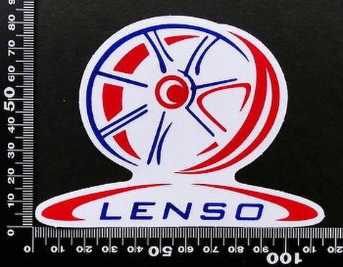 レンソー LENSO ステッカー 05471